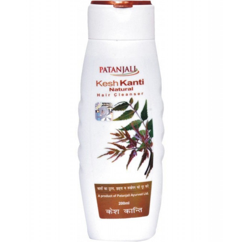 Шампунь Патанджали Patanjali Kesh Kanti Natural Hair Cleanse 200 ml