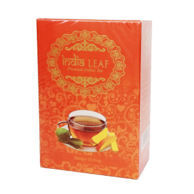 УЛУН С МАНГО ИНДИАН ЛИФ (MANGO OOLONG, INDIA LEAF), 100 ГРАММ