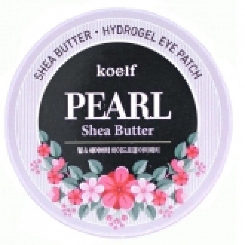 Гелевые патчи для глаз Koelf Hydro Gel Pearl and Shea Butter Eye Patch Гелевые патчи для глаз Koelf Hydro Gel Pearl and Shea Butter Eye Patch