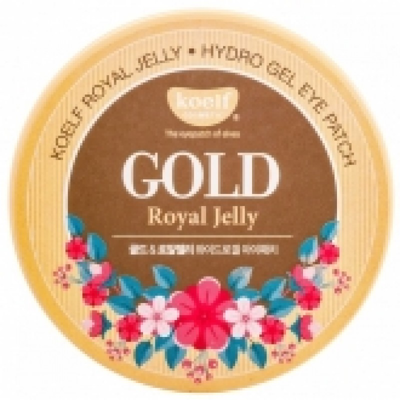 Гелевые патчи для глаз Koelf Hydro Gel Gold and Royal Jelly Eye Patch